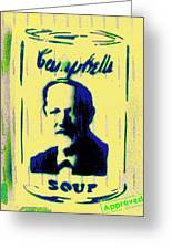 Campbell's Soup Tribute Greeting Card