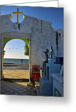 Campeche Malecon Greeting Card