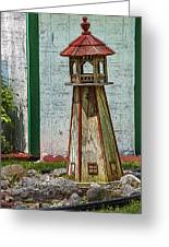 Campers Lighthouse Greeting Card