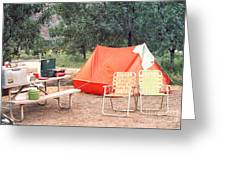 Campgrounds Usa Greeting Card