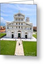 Campo Dei Miracoli - Pisa Greeting Card