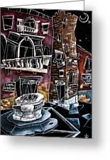 Campo San Boldo - Arte Moderna Contemporanea Di Venezia Greeting Card by Arte Venezia