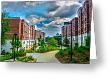 Campus Life Greeting Card