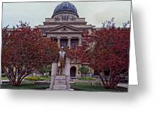 Campus Of Texas Am Greeting Card