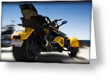 Can-am Spyder Greeting Card