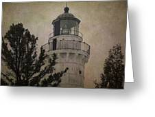 Cana Island Light Greeting Card
