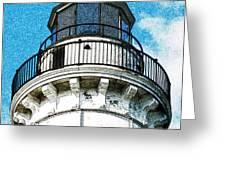 Cana Island Lighthouse Tower Greeting Card