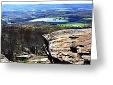 Canaan Valley From Valley View Trail Greeting Card