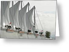 Canada Place Sails Greeting Card