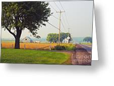 Canada Rural Scene Greeting Card