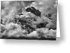 Canadian Coastal Mountains - Tantalus Mountains Greeting Card