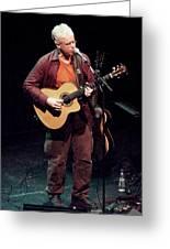 Canadian Folk Rocker Bruce Cockburn In 2002 Greeting Card