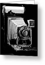 Canadian Kodak Black And White Camera Greeting Card