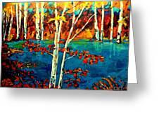 Canadian  Landscape Artist Carole Spandau Greeting Card