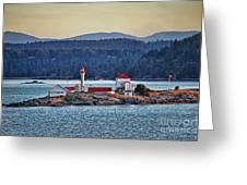 Canadian Lighthouses Sc3415-13 Greeting Card