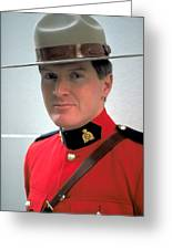 Canadian Mounted Police Greeting Card