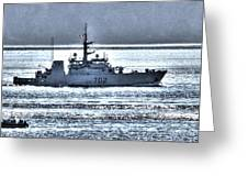 Canadian Navy Nanaimo M M702 Greeting Card