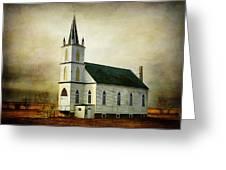 Canadian Prairie Heritage Greeting Card
