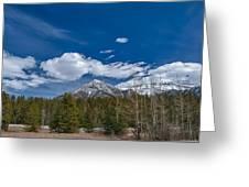 Canadian Rockies 13008 Greeting Card