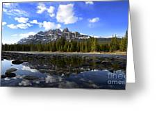 Canadian Rockies 8 Greeting Card