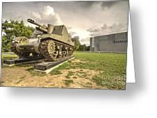 Canadian Tank  Greeting Card