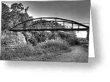 Canal Bridge Greeting Card