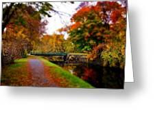 Canal Dream Greeting Card