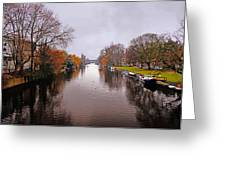 Canal Of Amsterdam Greeting Card