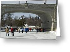 Canal Skate IIi Greeting Card