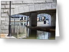Canal Walk Greeting Card