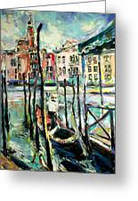 Canale Grande 2 Greeting Card