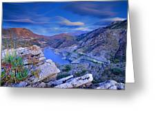 Canales Lake Greeting Card