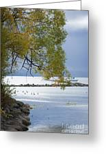 Canandaigua Lake Outlet Greeting Card