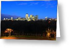 Canary Wharf 7 Greeting Card