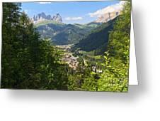Canazei - Val Di Fassa Greeting Card