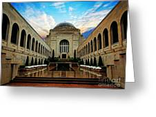 Canberra 10 Greeting Card