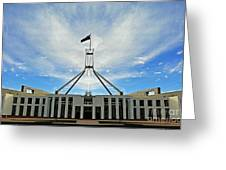 Canberra 11 Greeting Card