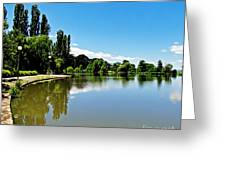 Canberra 7 Greeting Card