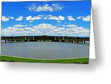 Canberra 9 Greeting Card
