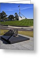 Canberra - Memorial And Parliament House Greeting Card