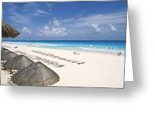 Cancun Beach Greeting Card