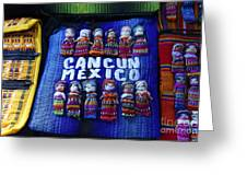 Cancun Souvenirs Mexico Greeting Card