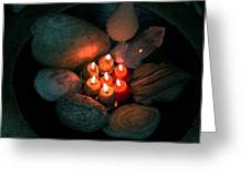Candle Meet Greeting Card