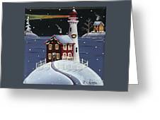 Candy Cane Cove Greeting Card