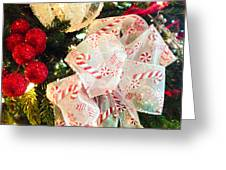 Candy Cane Dreams Greeting Card