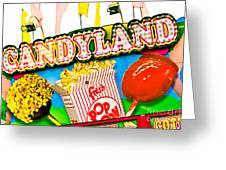 Candyland Greeting Card