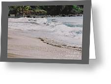 Cane Bay, Tortola # 3 Greeting Card