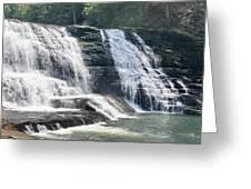 Cane Creek Cascade Greeting Card