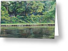 Cane River Greeting Card