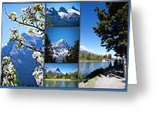 Canmore Alberta Greeting Card